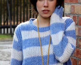Baby Blue Rib Knit