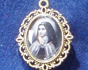Saint Teresa de Lisieux, The Little Flower Religious Medal