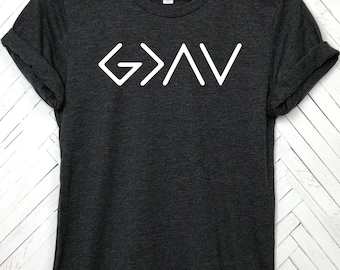 God is greater than the highs and lows, yall need Jesus, God is greater, faith shirt, believe, Jesus shirt, Church shirts, pray shirt