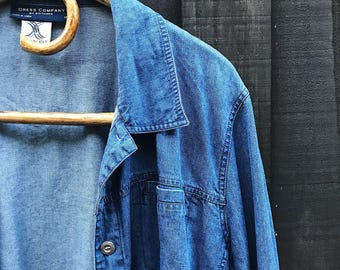 Denim like blue shirt
