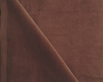 Chestnut brown velvet