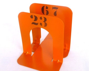 INDUSTRIAL STYLE Orange BOOKENDS