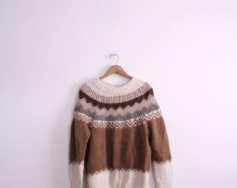 Peruvian Alpaca 70s Sweater