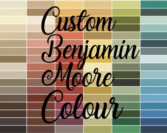 Custom Colour - Pick your colour for any of our listings.