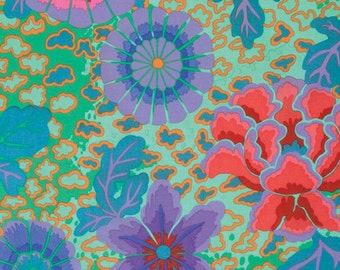 1/2 Yard Dream Aqua Kaffe Fassett fabric GP148