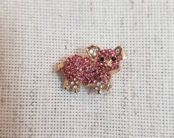 Jeweled Pig Needle Minder