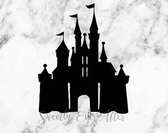 Disney Castle Decal Sticker - Disney World - Laptop Sticker - Car Truck Vinyl Decal - Planner Sticker - Birthday Gift