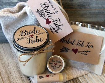 Bride Tribe - Will you be my Bridesmaid Gift//Will you be my Maid of Honor Gift//Bridesmaid Candle//Bridesmaid Proposal