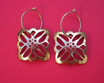 Edelweiss Gold Earrings
