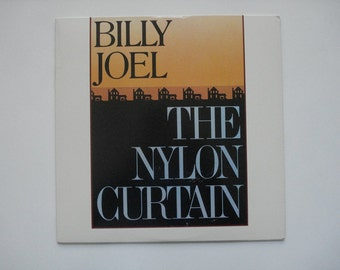 Billy Joel record album, Billy Joel The Nylon Curtain vintage vinyl record