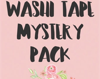 MYSTERY Washi Pack - 6 Rolls