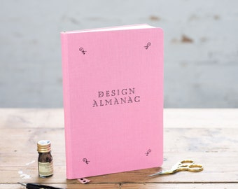 Colourful Design Almanac Journal for Artists and Designers