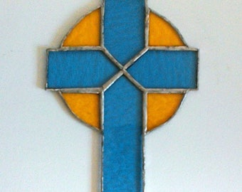 Cross - Stained Glass Tiffany