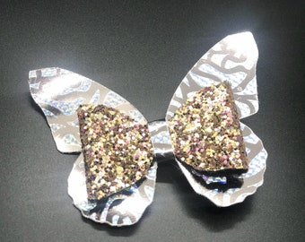Butterfly Sparkles Large Hair Bow