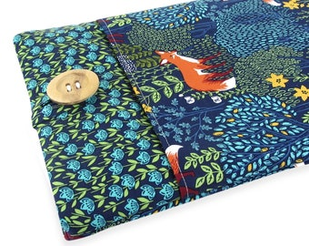 """Fox Chromebook Case - Cute Accessory For Your Chromebook Laptop - Sleeve Can Be Made To Fit Any Make/Model 11 Inch 12"""" 13"""" 14"""" to 15.6"""""""