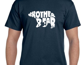 Brother Bear tshirt, Brother Gift, Brother Shirt, Gifts for Brother, Brother Christmas Gift, Big Brother Shirt, Big Brother,