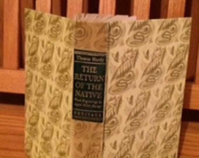 HERITAGE PRESS: The Return of the Native by Thomas Hardy 1942