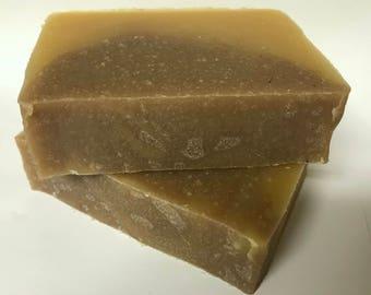 Cedarwood Orange Organic Handmade Soap - All Natural Vegan
