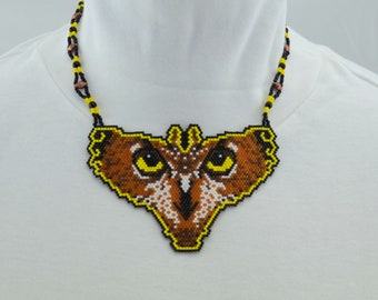 Owl Butterfly Necklace