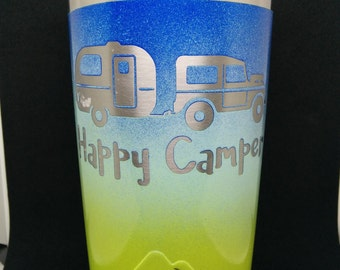 Customized 20oz Vacuum Insulated Tumbler - Keep beverages cold or hot for hours