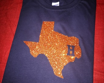 Houston Astros Inspired Soft Semi-fitted Adult T-Shirt