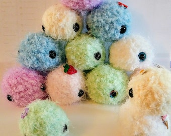 stress anxiety relief squishy amigurumi toy child gift boa yarn soft friendly therapeutic relaxation