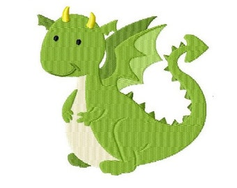 Embroidery Design Dragon 4'x4' - DIGITAL DOWNLOAD PRODUCT