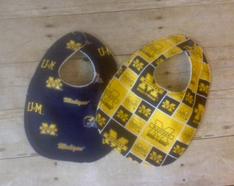 University of Michigan Wolverine Infant Bib
