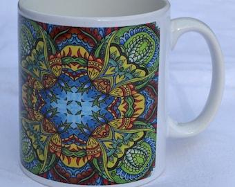 Mug 6. Ceramic mug, tea mug, coffee mug, home gift