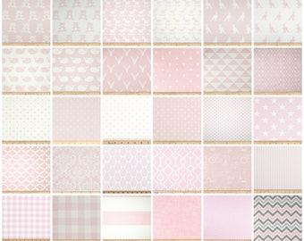 Nursery Curtains- Drapery Panels- Bella Pink Curtains- Pink Baby Girl Decor- Valance- Window Shade- Designer Drapes- Add Grommets & Lining