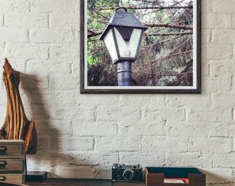 Lamp Post Photography Print | Light Post Print | Photography Print