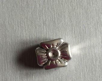 Beads large hole flower
