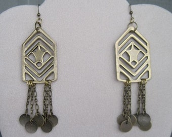 Military Inspired Earrings