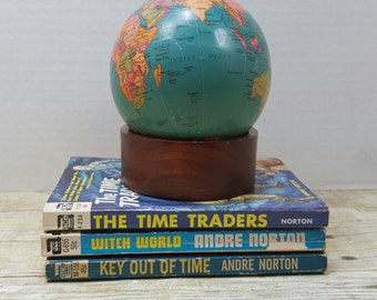 Vintage Sci Fi, set of 3 Andre Norton, 1950s-1960s Witch World, Key out of time, The Time Traders, science fiction