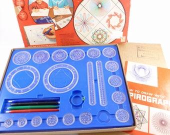 Kenner 1967 Spirograph Geometric Pattern Drawing Set Number 401