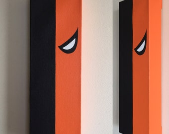 Deathstroke Canvas Painting