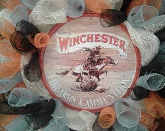 Winchester Deco mesh wreath