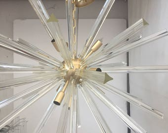 Chandelier Murano Glass sputnik triedo glass