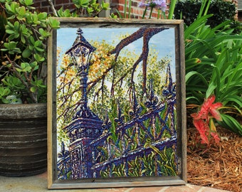 Nola Iron Works - GICLEE stretched canvas