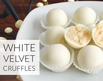 White Velvet Cruffles