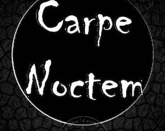 CARPE NOCTEM; Instant Download -- Digital Art (8x11) .png