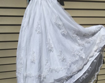 Custom made Rush Order: Baby's Christening, Baptismal Gown, made from your Wedding  Dress
