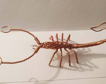 Copper wire Scorpion