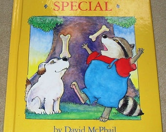 Something Special by David McPhail (1988, Hardcover) Finding Talents