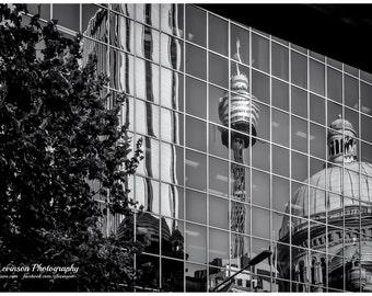 Sydney Reflection - original photograph, digital download, street photo
