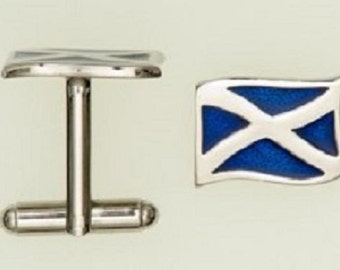 St. Andrews Pewter Cufflinks