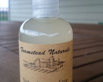 Naturally Bug Free, Handmade Bug Spray,Alcohol-free, All-Natural, Play Outdoors,Work Outside,Safe for dogs, kids, Mosquito & Tick Repellent,