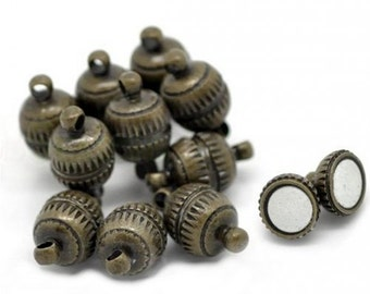 1 Antiqued Bronze Strong Magnetic Clasp