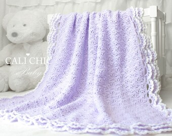 Crochet PATTERN 100 - Iris- Baby Blanket PATTERN 100 - Crochet Blanket Pattern - Instant Download