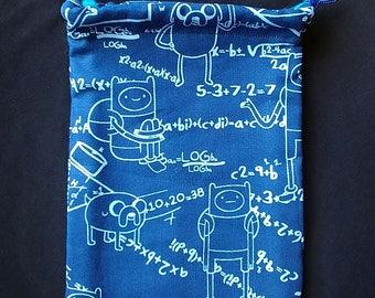 Blueprint art etsy adventure time blueprint pouch drawstring bag adventure time jake finn malvernweather Gallery
